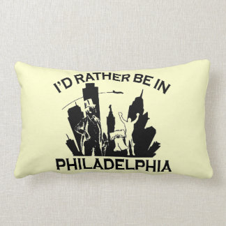 Esté bastante en Philadelphia Cojin