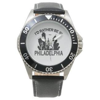 Esté bastante en Philadelphia Reloj De Mano