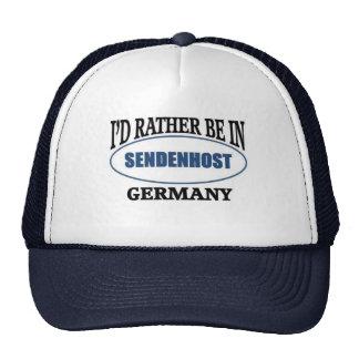 Esté bastante en Sendenhost Alemania Gorros