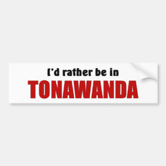 Esté bastante en Tonawanda Pegatina Para Auto