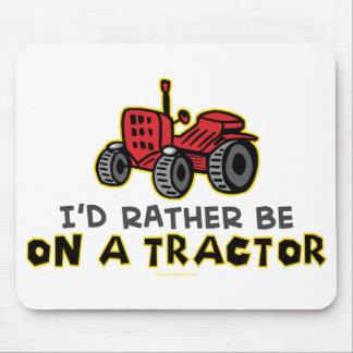 Esté bastante en un tractor alfombrillas de ratón