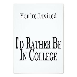 """Esté bastante en universidad invitación 5"""" x 7"""""""