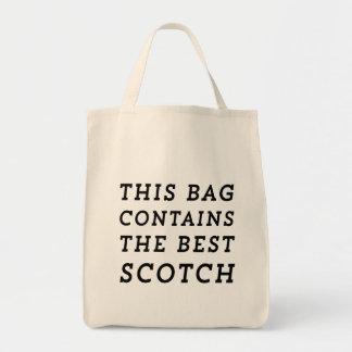 Este bolso contiene el mejor escocés bolsa tela para la compra