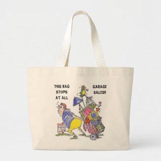 Este bolso para en todas las ventas de garaje bolsas