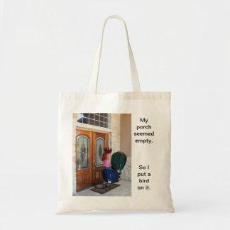 Este bolso se basa en la historia verdadera de mi  bolsa tela barata