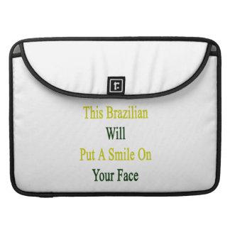 Este brasilen o pondrá una sonrisa en su cara fundas para macbooks
