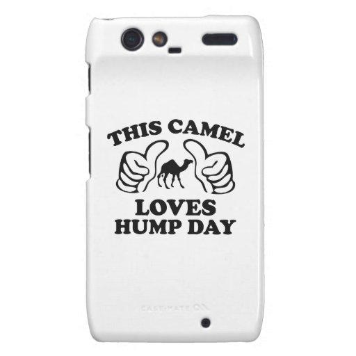Este camello ama día de chepa motorola droid RAZR fundas