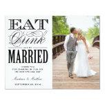Esté casado el | le agradecen postal de la foto anuncio