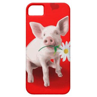 Este cerdo en caso del iPhone 5 del amor iPhone 5 Cárcasa