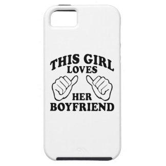 Este chica ama a su novio - iPhone 5 casos iPhone 5 Case-Mate Coberturas