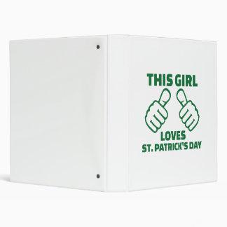"""Este chica ama el día de St Patrick Carpeta 1"""""""