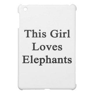 Este chica ama elefantes