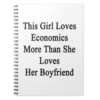 Este chica ama la economía más que ella la ama libretas