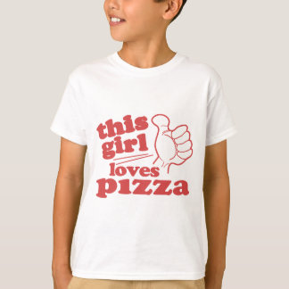 Este chica ama la pizza playera