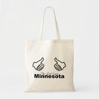 Este chica ama Minnesota Bolsa
