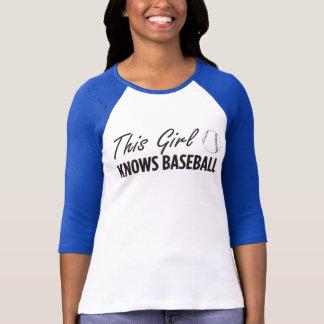 Este chica sabe el top de Flowy del béisbol