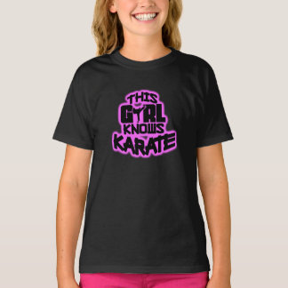 Este chica sabe karate playeras