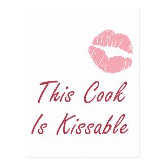 Este cocinero es Kissable Postales
