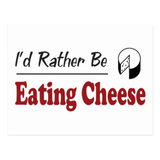 Esté comiendo bastante el queso postal