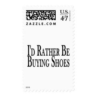 Esté comprando bastante zapatos sello postal