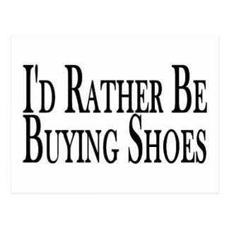 Esté comprando bastante zapatos postal