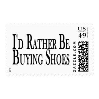 Esté comprando bastante zapatos timbre postal