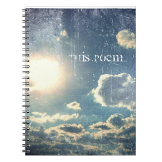 Este cuaderno del poema