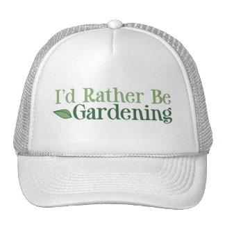 Esté cultivando un huerto bastante (la hoja) gorro