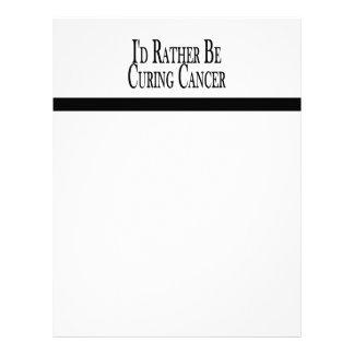 Esté curando bastante al cáncer membrete a diseño