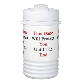 Este danés le protegerá hasta el extremo vaso enfriador igloo