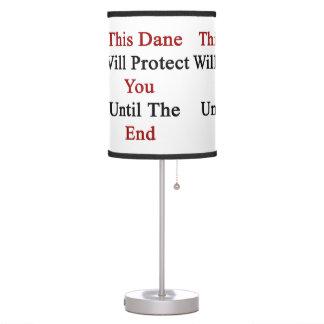 Este danés le protegerá hasta el extremo