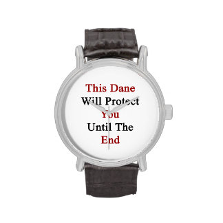 Este danés le protegerá hasta el extremo relojes de pulsera