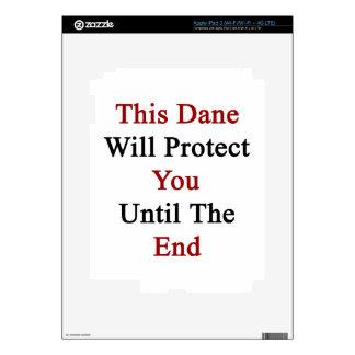Este danés le protegerá hasta el extremo pegatinas skins para iPad 3