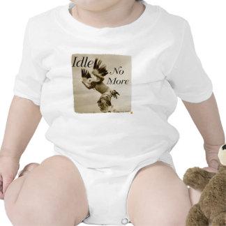Esté desocupado no más de onsie de baile del bebé traje de bebé