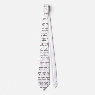Este egipcio no le dejará abajo corbata personalizada