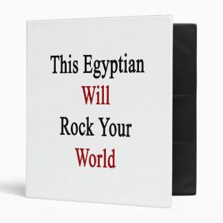 Este egipcio oscilará su mundo