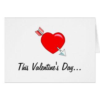 Este el día de San Valentín Tarjetas