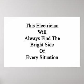 Este electricista encontrará siempre a la parte póster