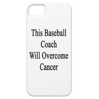 Este entrenador de béisbol superará al cáncer iPhone 5 Case-Mate coberturas