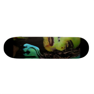 """Éste es adiós"" monopatín (del zombi) Skateboards"