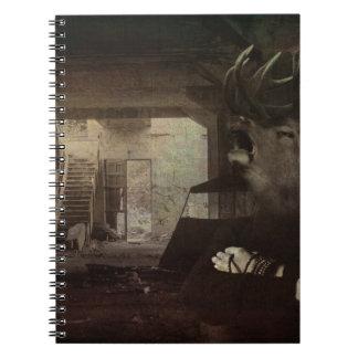 Éste es cómo la disociación siente spiral notebooks