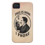 Éste es cómo llamo por teléfono Case-Mate iPhone 4 fundas