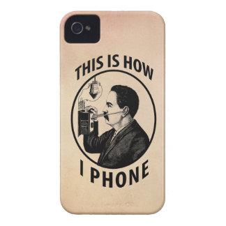 Éste es cómo llamo por teléfono iPhone 4 cárcasa