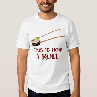 Éste es cómo rollo de sushi de I Camisas