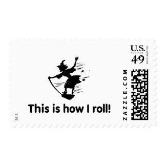 Éste es cómo ruedo 2 sellos