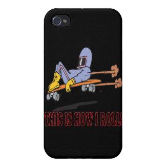 Éste es cómo ruedo 3 iPhone 4 protectores