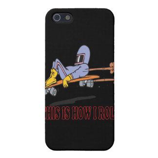Éste es cómo ruedo 3 iPhone 5 protectores