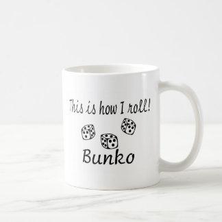 Éste es cómo ruedo Bunko Taza De Café