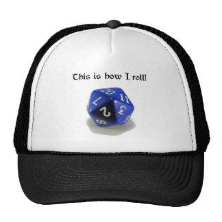Éste es cómo ruedo (d20) gorras de camionero