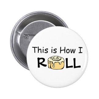Éste es cómo ruedo el bollo divertido del rollo de pin redondo de 2 pulgadas